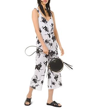 Michael Michael Kors Floral Print Jumpsuit-Women
