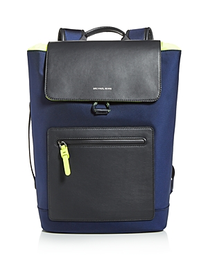 Michael Kors Brooklyn Flap Nylon Backpack