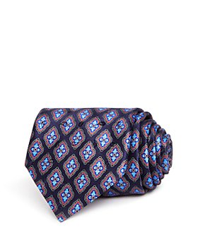 Ermenegildo Zegna - Floret Medallion Silk Classic Tie