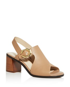Cole Haan - Women's Jamla Slingback Block-Heel Sandals
