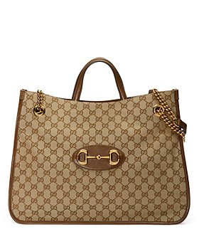 Gucci - 1955 Horsebit Large GG Canvas Tote Bag