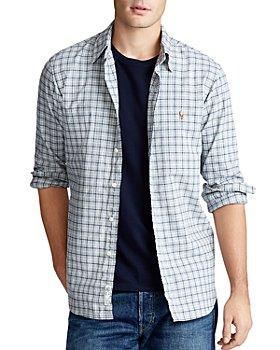 Polo Ralph Lauren - Cotton Oxford Windowpane Classic Fit Button-Down Shirt