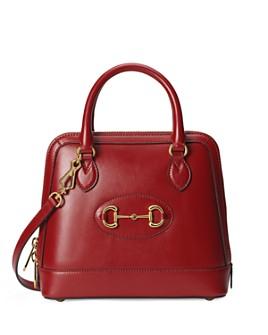 Gucci - 1955 Horsebit Small Leather Top Handle Bag