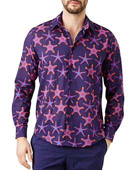 Vilebrequin - Caracal Starfishes Regular Fit Shirt