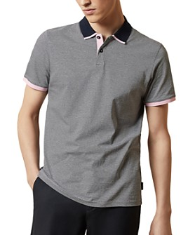 Ted Baker - MMB Caffine Striped Regular Fit Polo Shirt