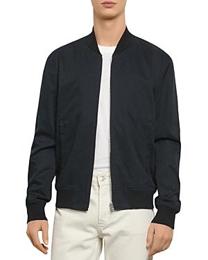 Sandro Monaco Cotton Bomber Jacket