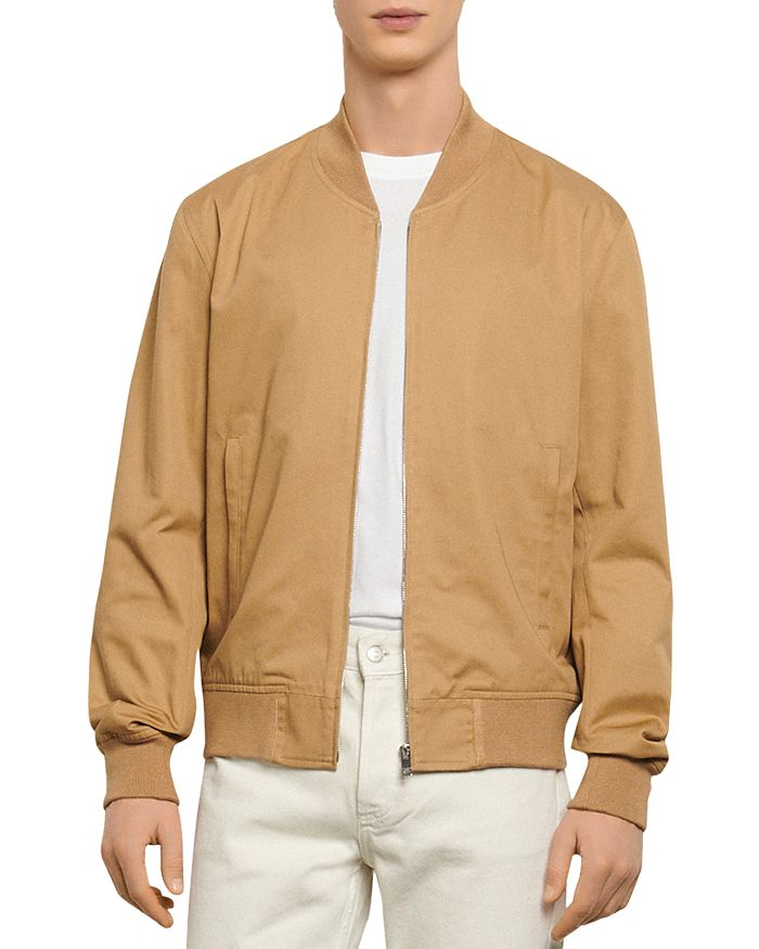 Sandro - Monaco Cotton Bomber Jacket