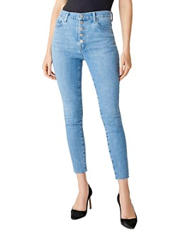 J Brand - Lillie High-Rise Skinny Ankle Jeans in Highland - 100% Exclusive