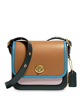 COACH - Color-Block Rambler 16 Small Leather Crossbody