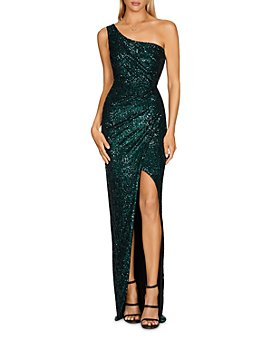 Nookie - One-Shoulder Sequinned Gown