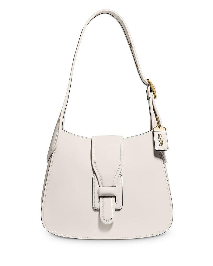 COACH - Glovetanned Leather Courier Medium Hobo Shoulder Bag