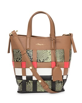 3.1 Phillip Lim - Odita Mini Lattice Leather Bucket Bag