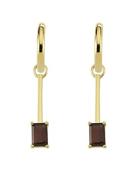 OWN YOUR STORY - 14K Yellow Gold Hoop Earrings and Connector Charms