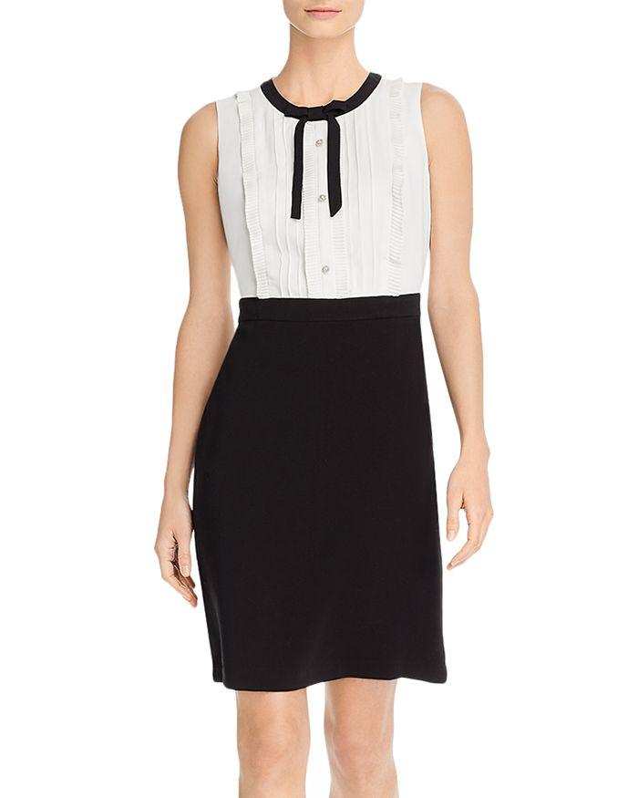 KARL LAGERFELD PARIS - Tie-Neck Dress