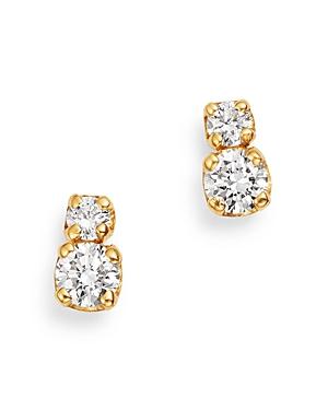 Zoe Chicco 14K Yellow Gold Prong Diamonds Diamond Stud Earrings-Jewelry & Accessories