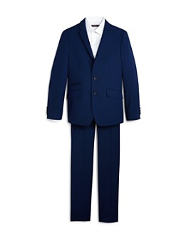 Andrew Marc - Boys' Solid Suit - Big Kid