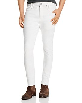 G-STAR RAW - D-Staq 3D Skinny Fit Jeans in White