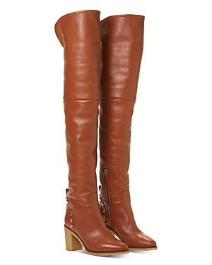 Valentino Garavani Women\\\'s High-Heel Over-The-Knee Boots