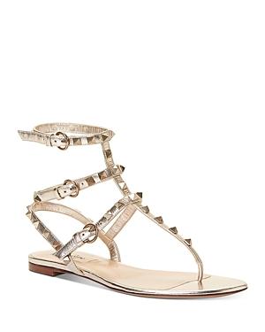 Valentino Garavani Women\\\'s Rockstud Thong Sandals