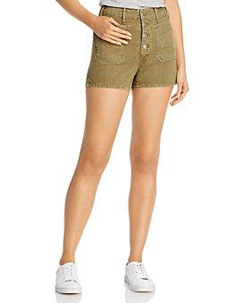 rag & bone - Cotton Utility Shorts