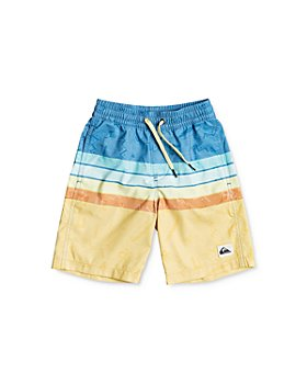 Quiksilver - Boys' Magic Volley Swim Trunks - Little Kid