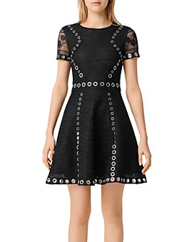 Maje - Ranch Eyelet Dress