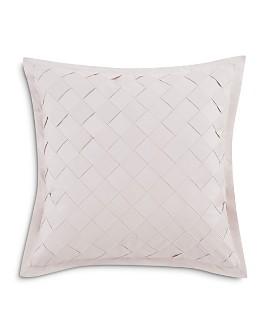"Charisma - Riva Basketweave Decorative Pillow, 18"" x 18"""