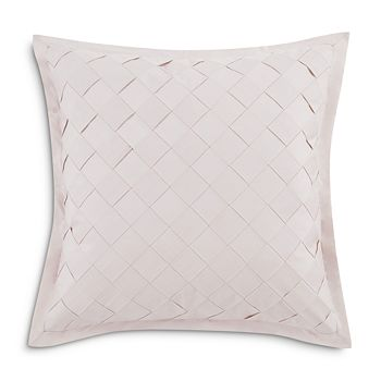 "Charisma - Riva Basketweave Decorative Pillow, 18"" x 18"""