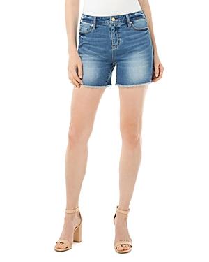 Vickie Cutoff Denim Shorts
