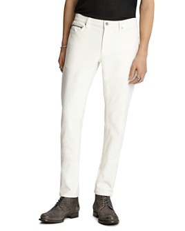John Varvatos Collection - Chelsea Slim Fit Jeans in Milk