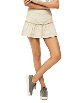 Free People - Positano Tiered Mini Skirt