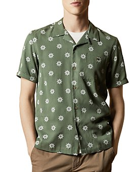 Ted Baker - Ted Baker Raingo Floral Camp Shirt