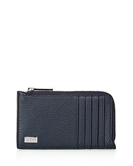 BOSS Hugo Boss - Crosstown Pebbled Leather Card Case