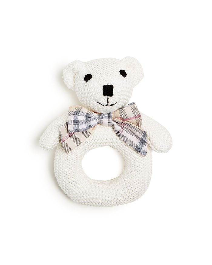 Burberry - Thomas Beat Knitted Rattle - Ages 0+