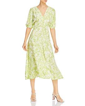 Faithfull the Brand - Vittoria Plaid Midi Dress