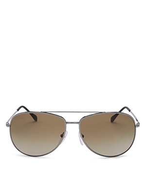 Prada Men\\\'s Brow Bar Aviator Sunglasses, 61mm