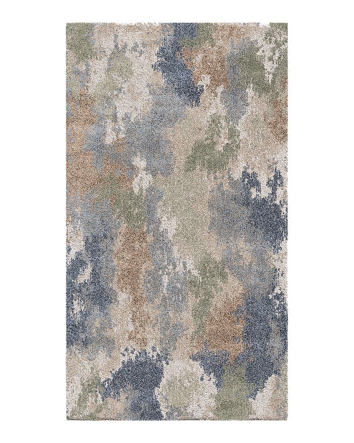 Palmetto Living Mystical Dreamy Area Rug, 6'7 X 9'6 In Muted Blue