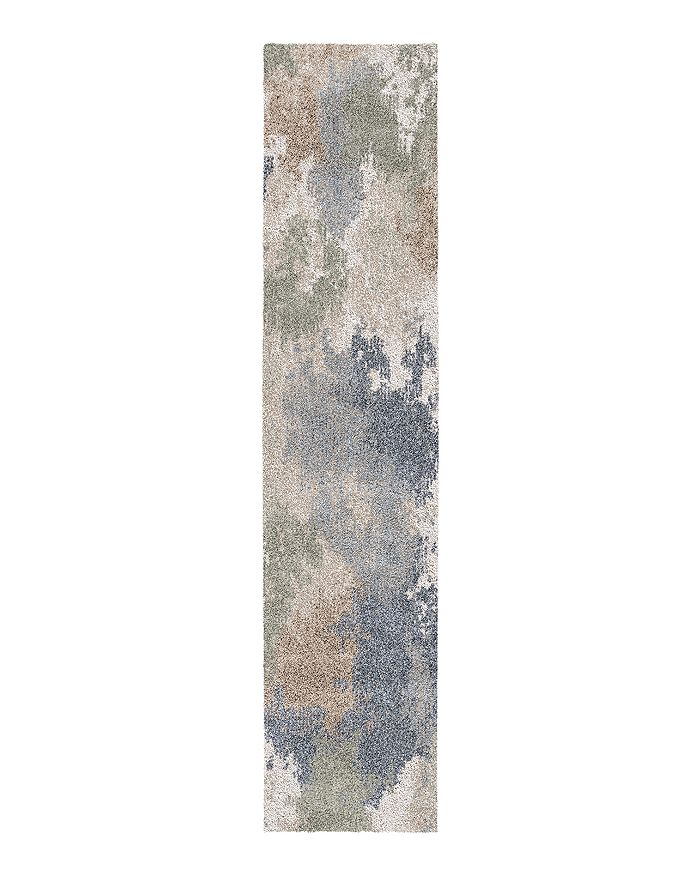 Palmetto Living Mystical Dreamy Runner Rug, 2'3 X 8'0 In Muted Blue