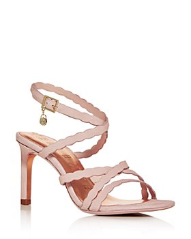 Ted Baker - Women's Scalloped Strap High-Heel Sandals