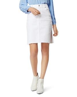 Habitual - Willa Double-Slit Cotton Denim Skirt