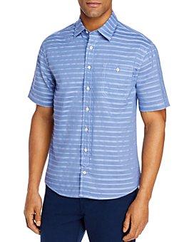 Johnnie-O - Raleigh Cotton-Blend Striped Shirt