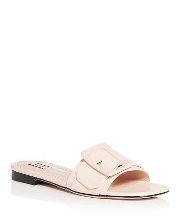 Bally - Women's Janna Buckled Slide Sandals