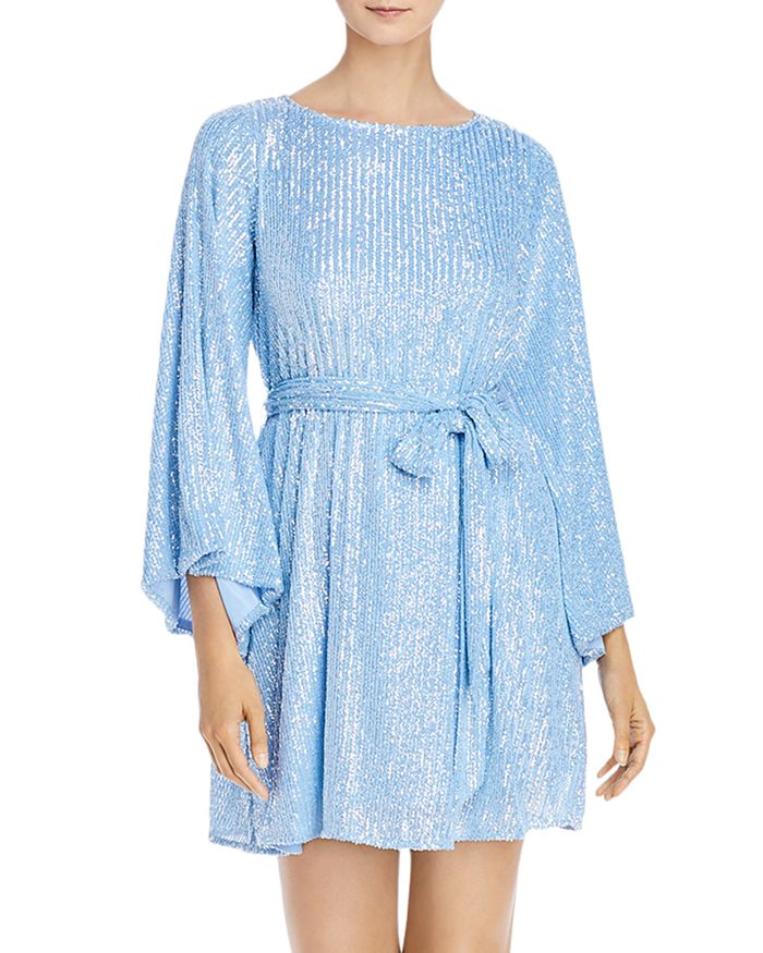Jay Godfrey - Maggie Sequined Belted Dress