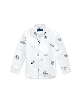 Ralph Lauren - Boys' Cotton Collegiate Printed Shirt - Little Kid