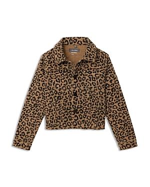 DL1961 Girls\\\' Manning Leopard Print Jacket - Big Kid-Kids