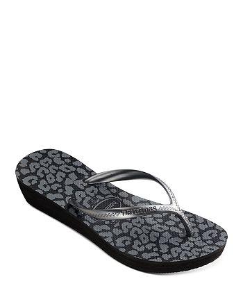 havaianas - Women's High Light II Thong Wedge Sandals