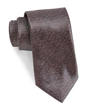John Varvatos Star Usa Filmore Textured Print Silk Classic Tie-Men