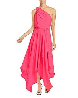 HALSTON - Braided Strap Gown