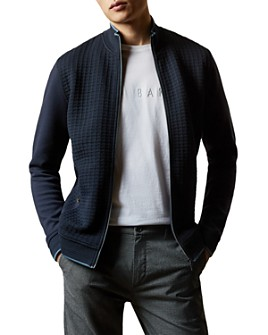 Ted Baker - Textured Zip-Front Jacket - 100% Exclusive