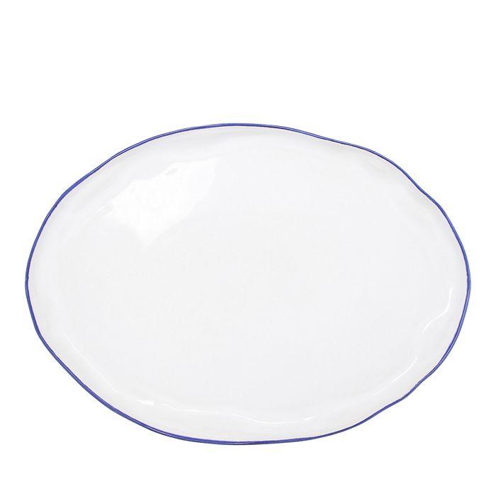 VIETRI - Aurora Edge Large Oval Platter